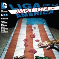 Cómics: LIGA DE LA JUSTICIA DE AMÉRICA Nº 5 DE LIGA DE LA JUSTICIA DE AMÉRICA [DE 15] ECC EDICIONES. Lote 166381202