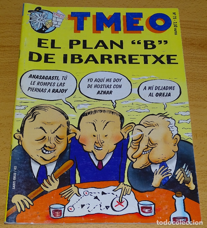 TMEO Nº 75. (Tebeos y Comics - Comics otras Editoriales Actuales)