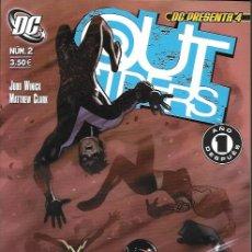 Cómics: DC PRESENTA: OUTSIDERS. PLANETA DEAGOSTINI 2007. Nº 2 (#4). Lote 166516805