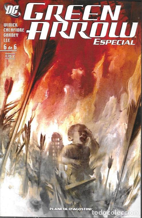 GREEN ARROW ESPECIAL. PLANETA DEAGOSTINI 2006. Nº 6 (Tebeos y Comics - Comics otras Editoriales Actuales)