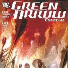 Cómics: GREEN ARROW ESPECIAL. PLANETA DEAGOSTINI 2006. Nº 6. Lote 166516865