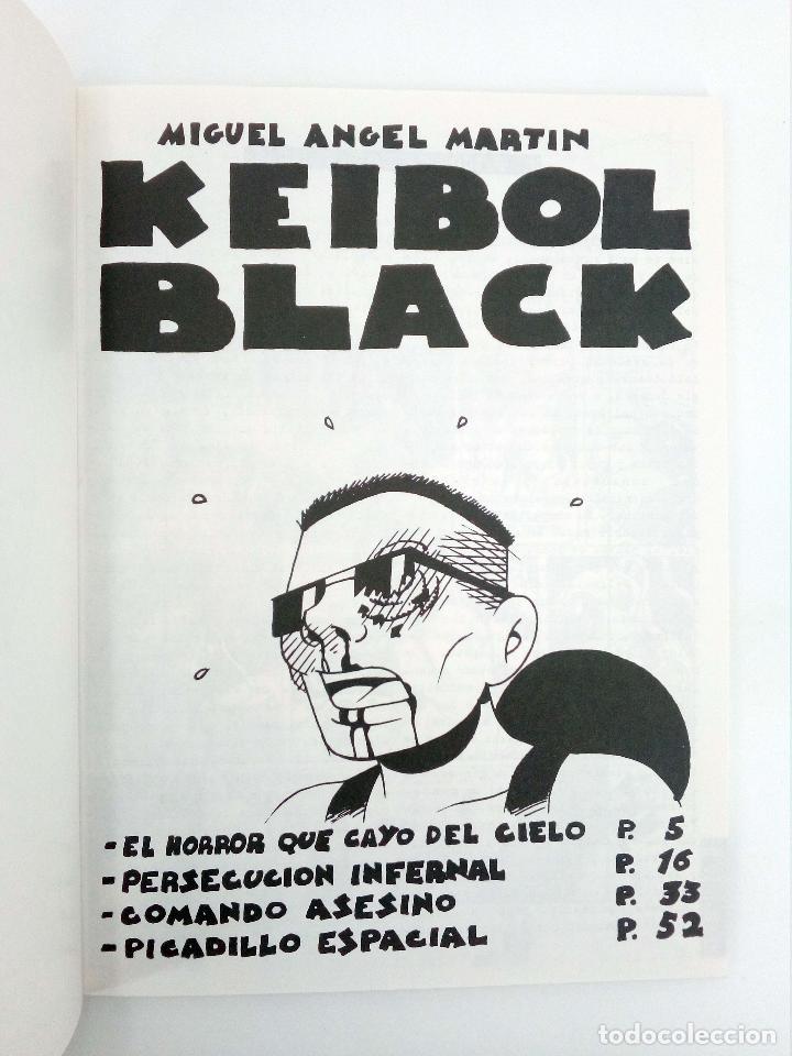 Cómics: KEIBOL BLACK (Miguel Ángel Martin MRTN) La Factoría de ideas, 2003. OFRT antes 7E - Foto 7 - 194294127