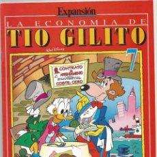 Cómics: PACK DE 7 NUMEROS DE EXPANSION-LA ECONOMIA DE TIO GILITO DE WALT DISNEY NOS.-4-5-6-7-10-11 Y 12 . Lote 166609834