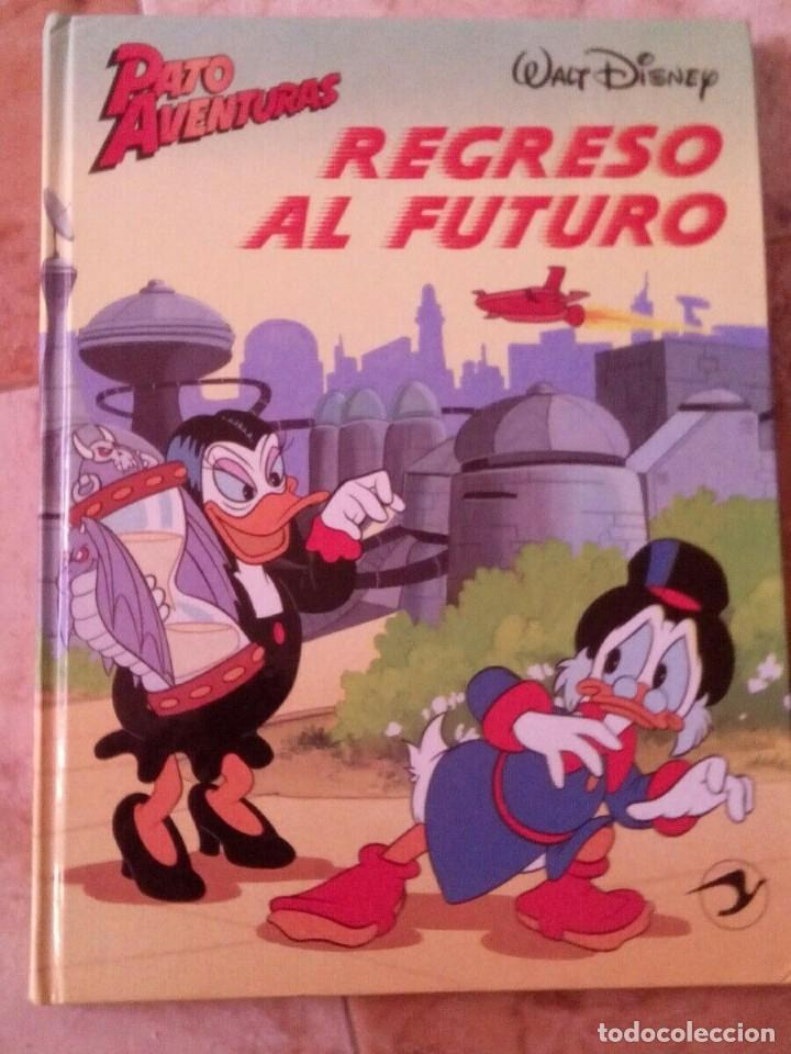 Cómics: Lote de 2 Libros disney pato aventuras la corona de gengis kahn,pato aventuras regreso al futuro - Foto 3 - 166663322
