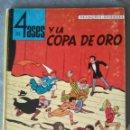 Cómics: LOS 4 ASES Y LA COPA DE ORO OIKOS-TAU 1969 1ª EDICIÓN. Lote 166694446