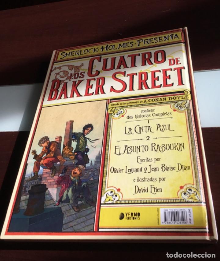 Cómics: Cómics. LOS CUATRO DE BAKER STREET 01 - OLIVIER LEGRAN/JEAN-BLAISE DJIAN/DAVID ETIEN (Cartoné) - Foto 2 - 166706762