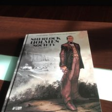 Cómics: SHERLOCK HOLMES SOCIETY (VOL. 1) - CORDURIÉ, BERVAS, TORRENTS - YERMO EDICIONES. Lote 166707454