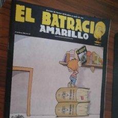 Cómics: EL BATRACIO AMARILLO 133. REVISTA DE HUMOR DE GRANADA. GRAPA. BUEN ESTADO. RARA.. Lote 166728386