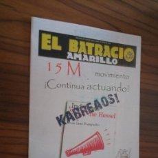 Cómics: 15-M. ESPECIAL DEL BATRACIO AMARILLO. 12 PAGINAS. FORMATO A5. RARÍSIMO. Lote 166833354