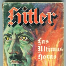 Cómics: HITLER LAS ULTIMAS HORAS PUBLICACION PARA ADULTOS MERCOCOMIC AÑO 1977. Lote 166855943