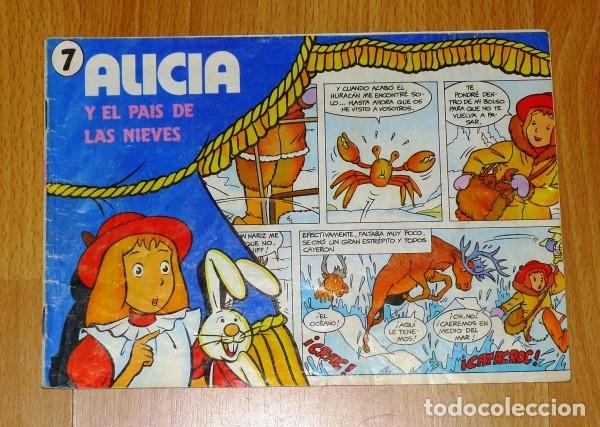 ALICIA Y EL PAÍS DE LAS NIEVES ; 7 [CUÉTARA] (Tebeos y Comics - Comics otras Editoriales Actuales)