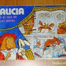 Cómics: ALICIA Y EL PAÍS DE LAS NIEVES ; 7 [CUÉTARA]. Lote 166900376