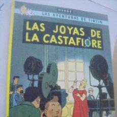 Cómics: LAS AVENTURAS DE TINTÍN - LAS JOYAS DE LA CASTAFIÓRE. Lote 167069600