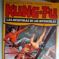 Cómics: KUNG-FÚ-REVISTA QUINCENAL-1979- Nº 42 -JORDI BERNET-JULIO-AMADOR GARCÍA-JOMA-MUY RARO-LEAN-1311. Lote 167070593