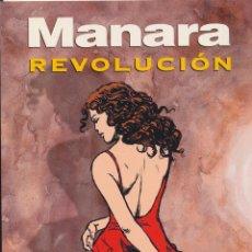 Cómics: MANARA. REVOLUCIÓN. NORMA. Lote 167116113