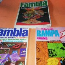 Cómics: LOTE. RAMBLA Nº 7,9,11,17 Y EXTRA NAVIDAD. RAMPARAMBLA .DOS ESPECIALES EN VOLUMEN Nº12. Lote 167117240