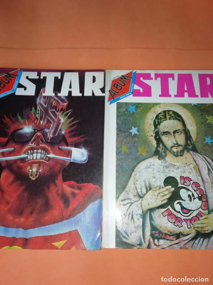 ALBUM STAR- TOMOS 14 & 18 . PRODUCCIONES EDITORIALES. 1980 (Tebeos y Comics - Comics otras Editoriales Actuales)