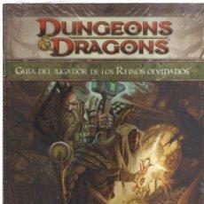 Cómics: DUNGEONS DRAGONS GUIA DEL JUGADOR DE LOS REINOS OLVIDADOS. Lote 167337448