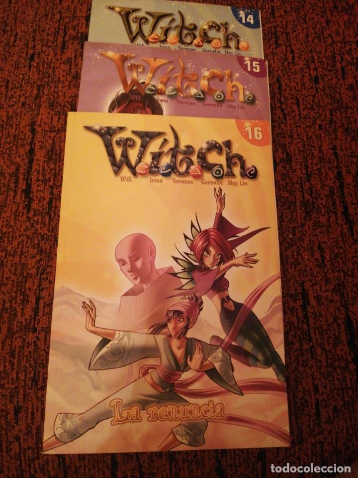 WITCH LOTE 3 COMICS (Tebeos y Comics Pendientes de Clasificar)
