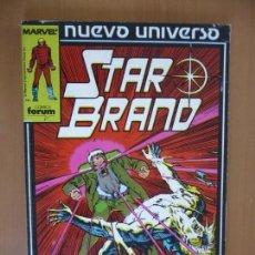 Cómics: STAR BRAND. TOMO RETAPADO FORUM. Lote 167625728