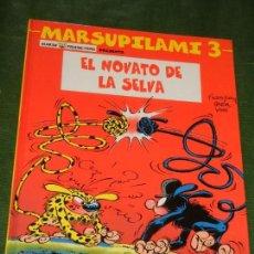 Cómics: MARSUPILAMI - EL NOVATO DE LA SELVA - Nº 3 SALVAT 2002. Lote 167633120
