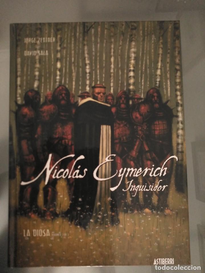 Cómics: Nicolás Eymerich T1 y T2 - Foto 2 - 167633546