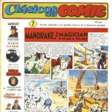 Cómics: CLÁSICOS DEL COMIC NÚMERO 7 (JOAQUÍN ESTEVE-COMPLOT, 1988). Lote 167755272