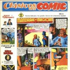 Cómics: CLÁSICOS DEL COMIC NÚMERO 11 (JOAQUÍN ESTEVE-COMPLOT, 1988). Lote 167755784