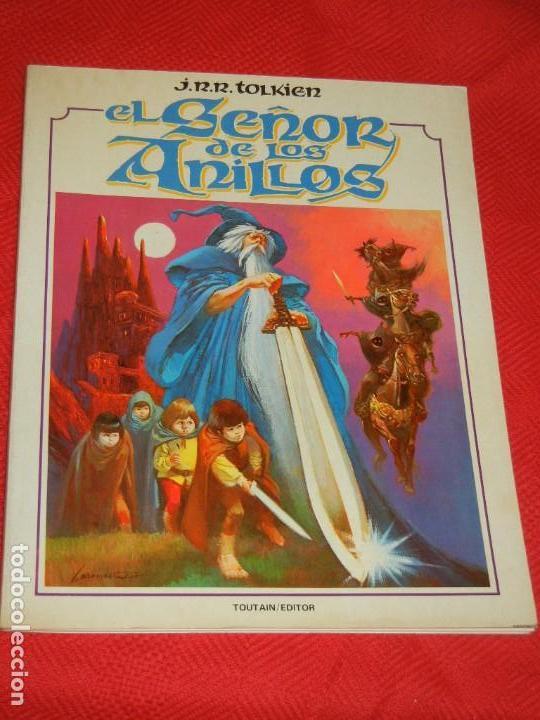 EL SEÑOR DE LOS ANILLOS. J. R. R. TOLKIEN. I PARTE. TOUTAIN. BARCELONA. 1980 (Tebeos y Comics - Comics otras Editoriales Actuales)