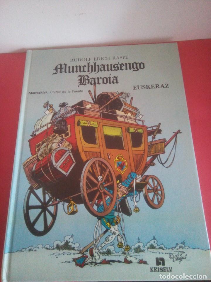 MUNCHHAUSENGO BAROIA - EUSKERAZ - CHIQUI DE LA FUENTE - (Tebeos y Comics Pendientes de Clasificar)