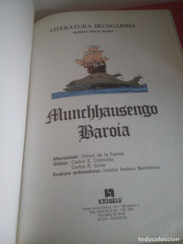 Cómics: Munchhausengo Baroia - Euskeraz - Chiqui de la Fuente - - Foto 7 - 167806428