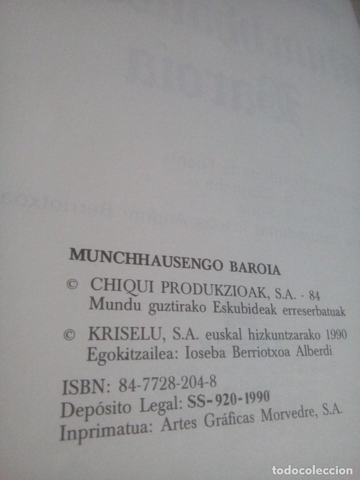 Cómics: Munchhausengo Baroia - Euskeraz - Chiqui de la Fuente - - Foto 8 - 167806428