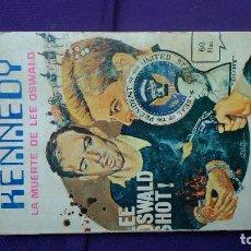 Comics: KENNEDY-2 LA MUERTE DE OSWALD; CURIOSO CÓMIC AÑOS SESENTA/SETENTA EN FORMATO LIBRO DE BOLSILLO POR . Lote 167864908