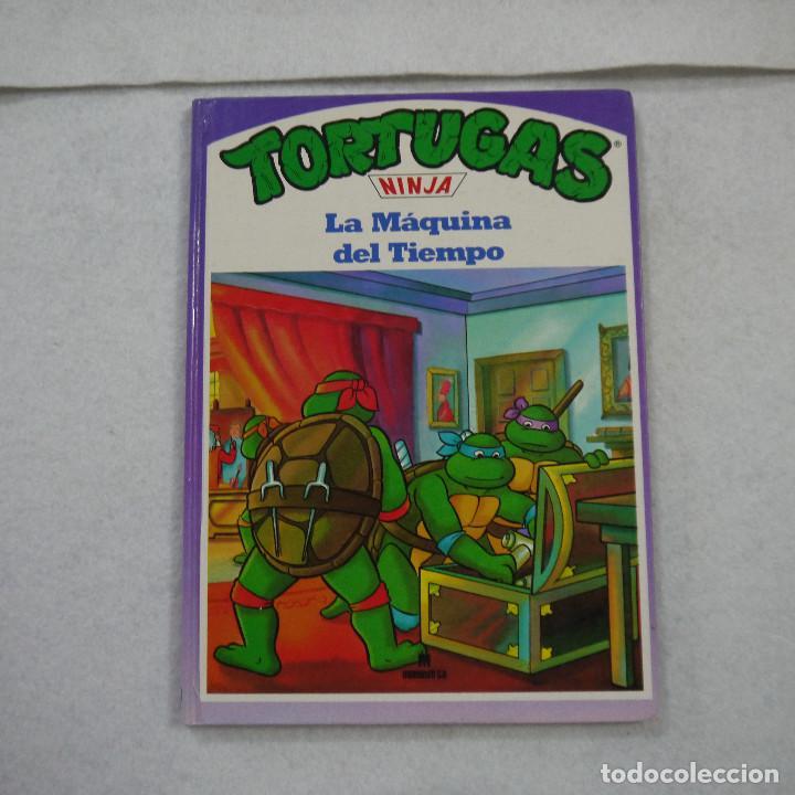 TORTUGAS NINJA. LA MÁQUINA DEL TIEMPO - 1991 (Tebeos y Comics Pendientes de Clasificar)
