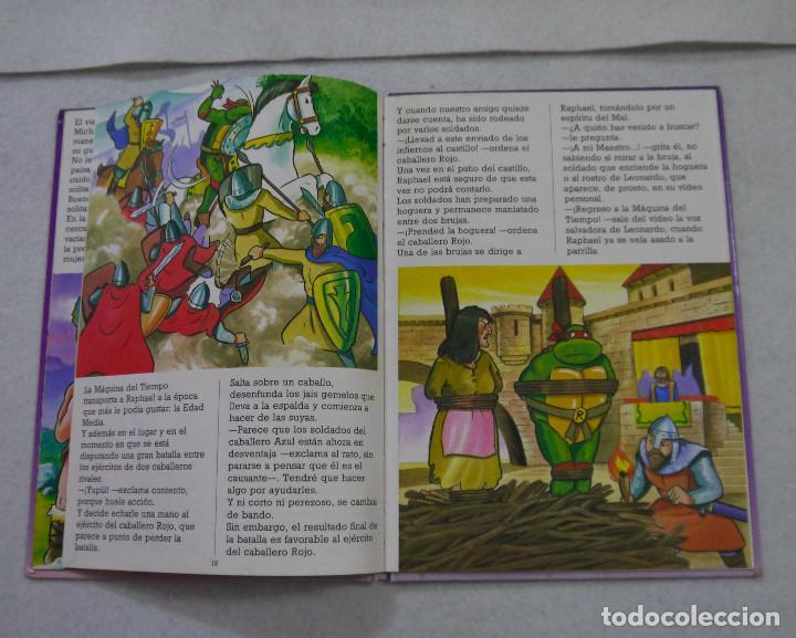 Cómics: TORTUGAS NINJA. LA MÁQUINA DEL TIEMPO - 1991 - Foto 2 - 167969572