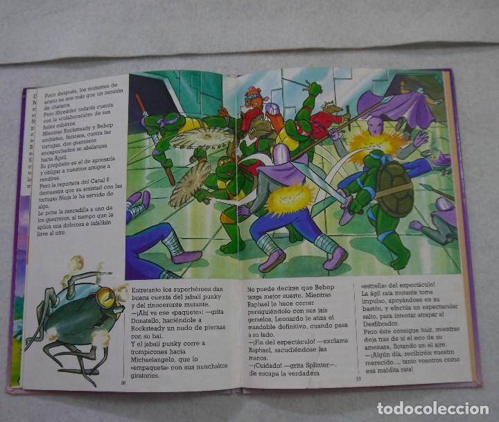 Cómics: TORTUGAS NINJA. LA MÁQUINA DEL TIEMPO - 1991 - Foto 3 - 167969572