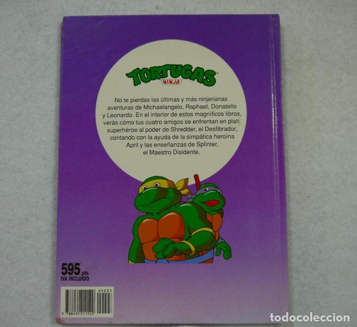 Cómics: TORTUGAS NINJA. LA MÁQUINA DEL TIEMPO - 1991 - Foto 4 - 167969572