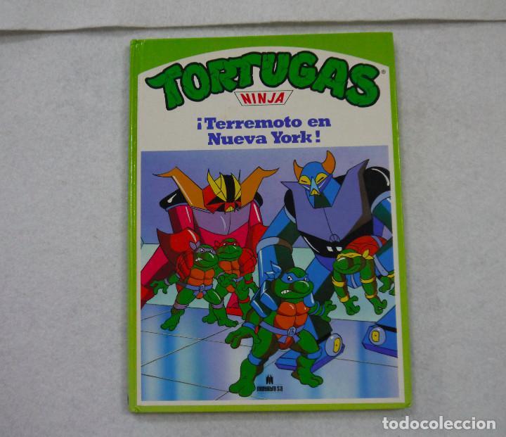 TORTUGAS NINJA. ¡TERREMOTO EN NUEVA YORK! - 1991 (Tebeos y Comics Pendientes de Clasificar)