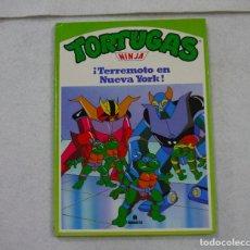 Cómics: TORTUGAS NINJA. ¡TERREMOTO EN NUEVA YORK! - 1991. Lote 167970120