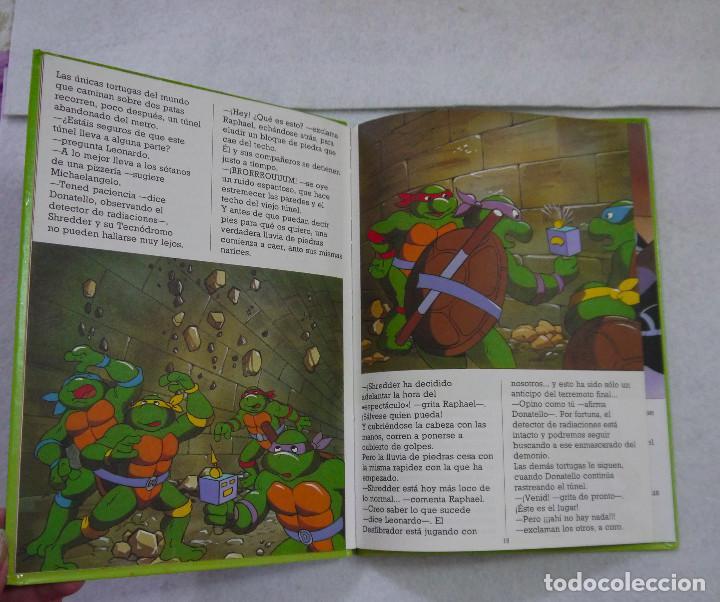 Cómics: TORTUGAS NINJA. ¡TERREMOTO EN NUEVA YORK! - 1991 - Foto 3 - 167970120