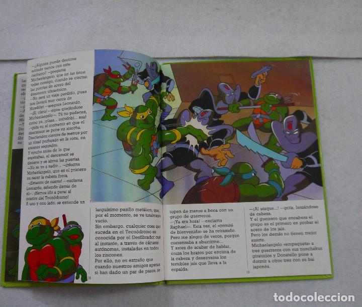 Cómics: TORTUGAS NINJA. ¡TERREMOTO EN NUEVA YORK! - 1991 - Foto 4 - 167970120