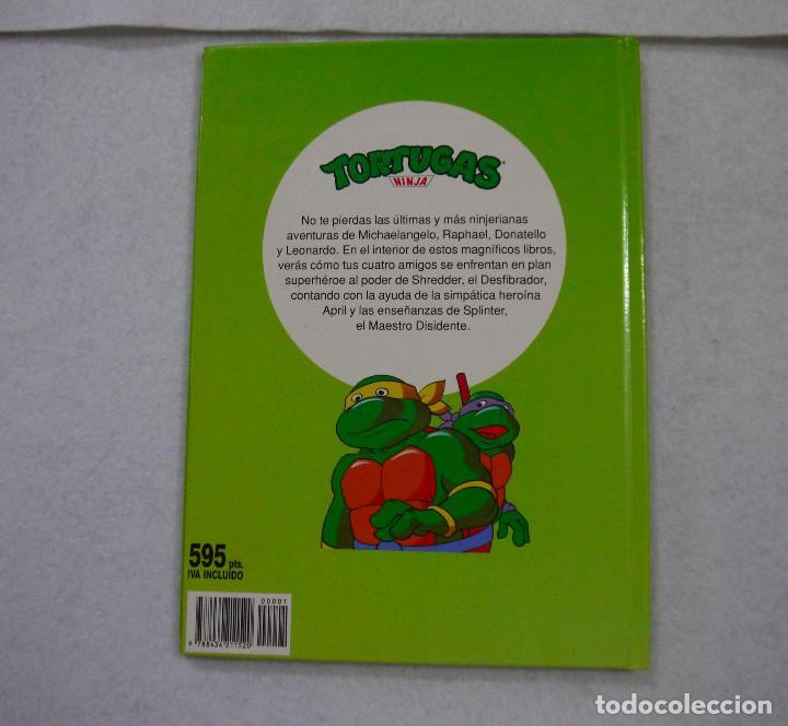 Cómics: TORTUGAS NINJA. ¡TERREMOTO EN NUEVA YORK! - 1991 - Foto 5 - 167970120