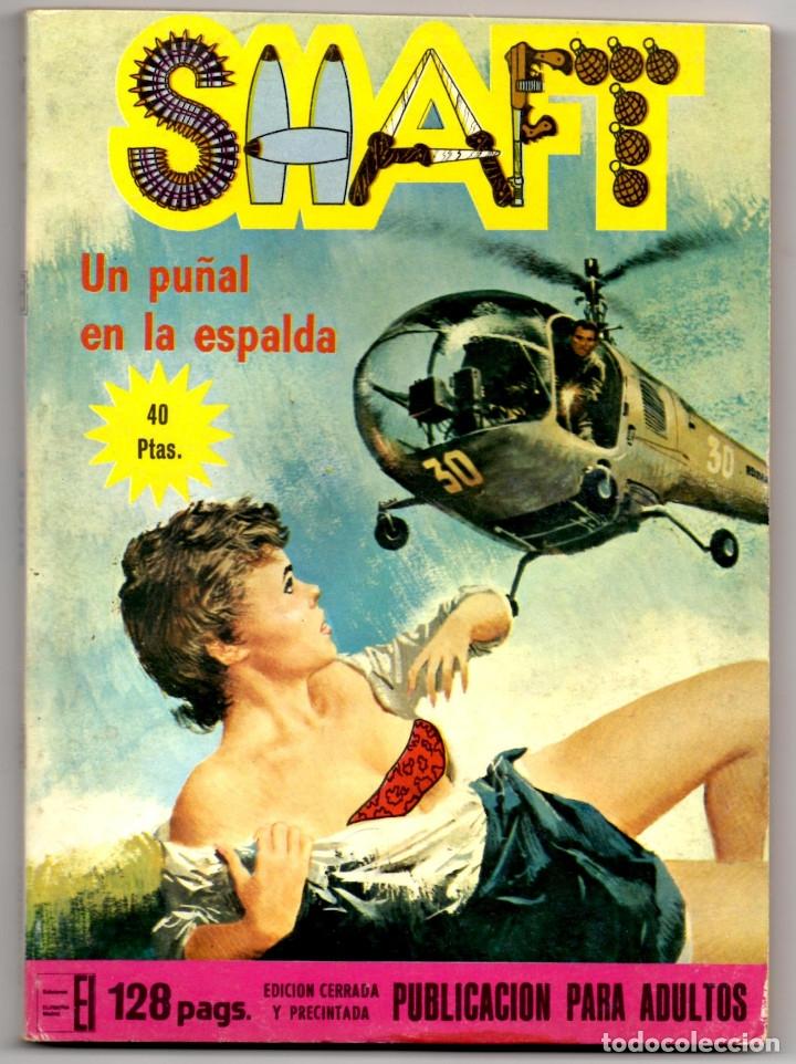 Cómics: SHAFT nº 1, 3, 6, 14, 19, 24 y 25 (Elviberia 1976) 7 novelas. - Foto 8 - 153496922