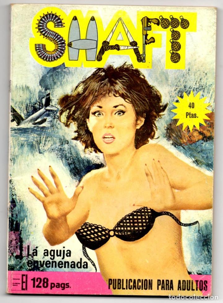 Cómics: SHAFT nº 1, 3, 6, 14, 19, 24 y 25 (Elviberia 1976) 7 novelas. - Foto 10 - 153496922
