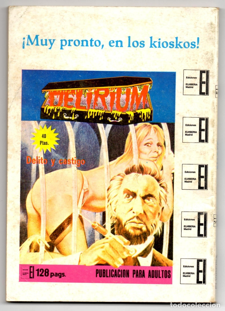 Cómics: SHAFT nº 1, 3, 6, 14, 19, 24 y 25 (Elviberia 1976) 7 novelas. - Foto 11 - 153496922