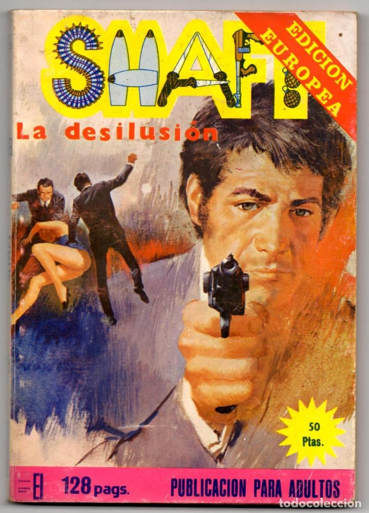 Cómics: SHAFT nº 1, 3, 6, 14, 19, 24 y 25 (Elviberia 1976) 7 novelas. - Foto 14 - 153496922