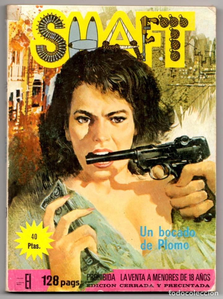 Cómics: SHAFT nº 1, 3, 6, 14, 19, 24 y 25 (Elviberia 1976) 7 novelas. - Foto 2 - 153496922