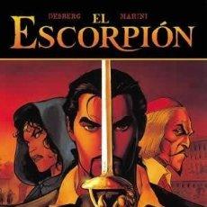 Cómics: EL ESCORPION Nº 1 A 11 COLECCION COMPLETA EN TAPA DURA MARINI. Lote 167993504