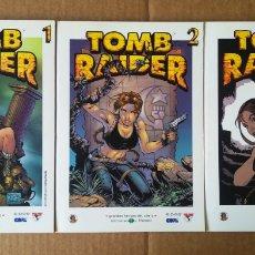 Comics : LOTE GRANDES HÉROES DEL CÓMIC: TOMB RAIDER COMPLETA (BIBLIOTECA EL MUNDO, 2003)/TOMOS 1-2-3/32-33-34. Lote 196139571
