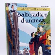 Cómics: LES AVENTURES DE MIQUEL MENA 1. SALTEJADORS D ANIMES (HERRANZ / POVO) NETCOM2, 2012. OFRT ANTES 15E. Lote 211434275